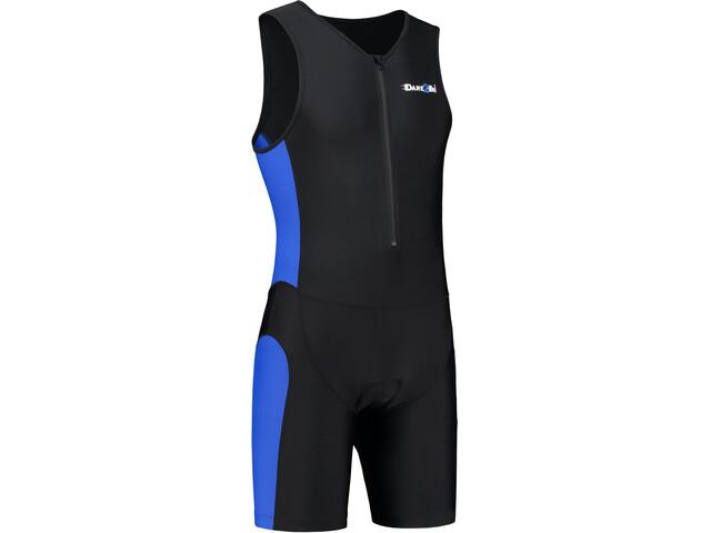 Dare2Tri Frontzip Trisuit - Hombre - azul/negro